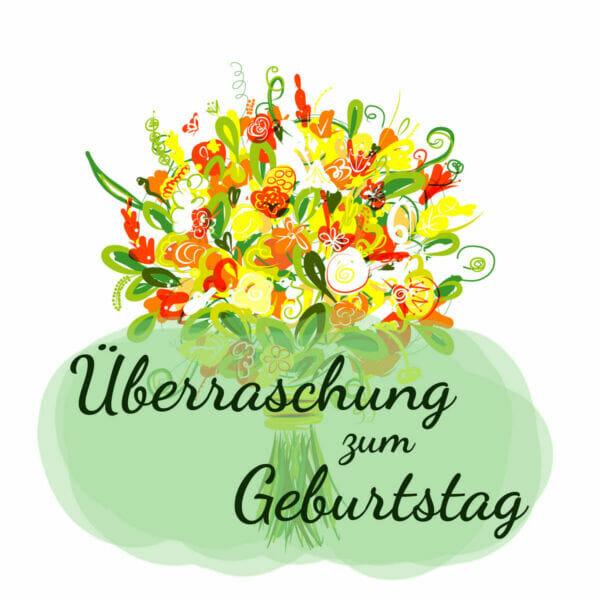 Lass dich von der Handwerkskunst unserer Floristen überzeugen mit einem Überraschungs-Blumenstrauß zum Geburtstag aus Blumen der Saison. Jeder Strauß ist einzigartig.